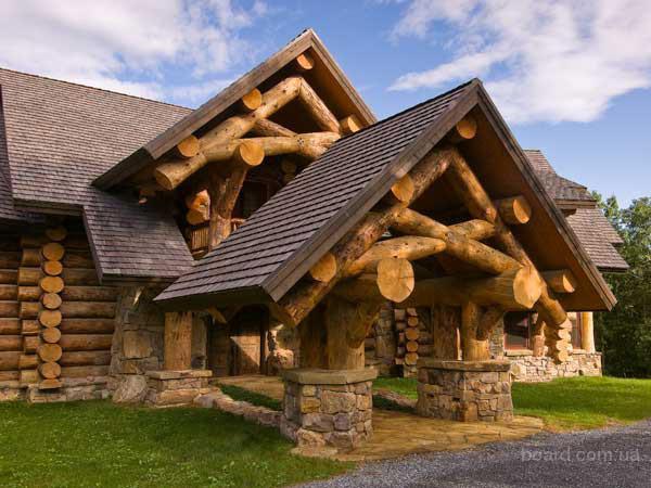 Строительство коттеджей, рубка деревянных домов и бань под ключ