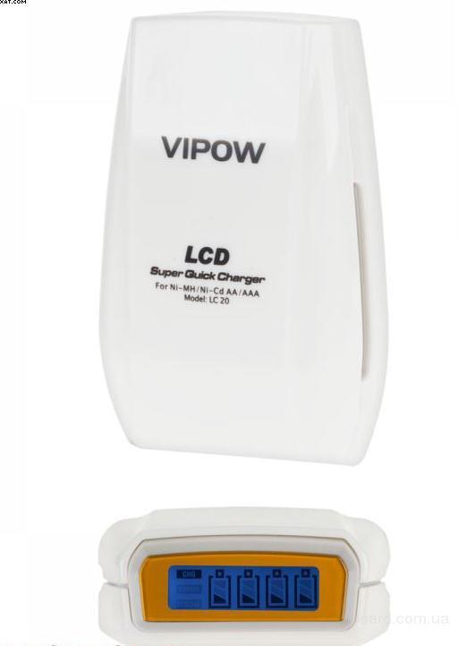 Зарядное устройство  VIPOW LC20 с дисплеем