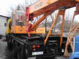 Автокран TATRA (Модель 815 AD20T) Чехия