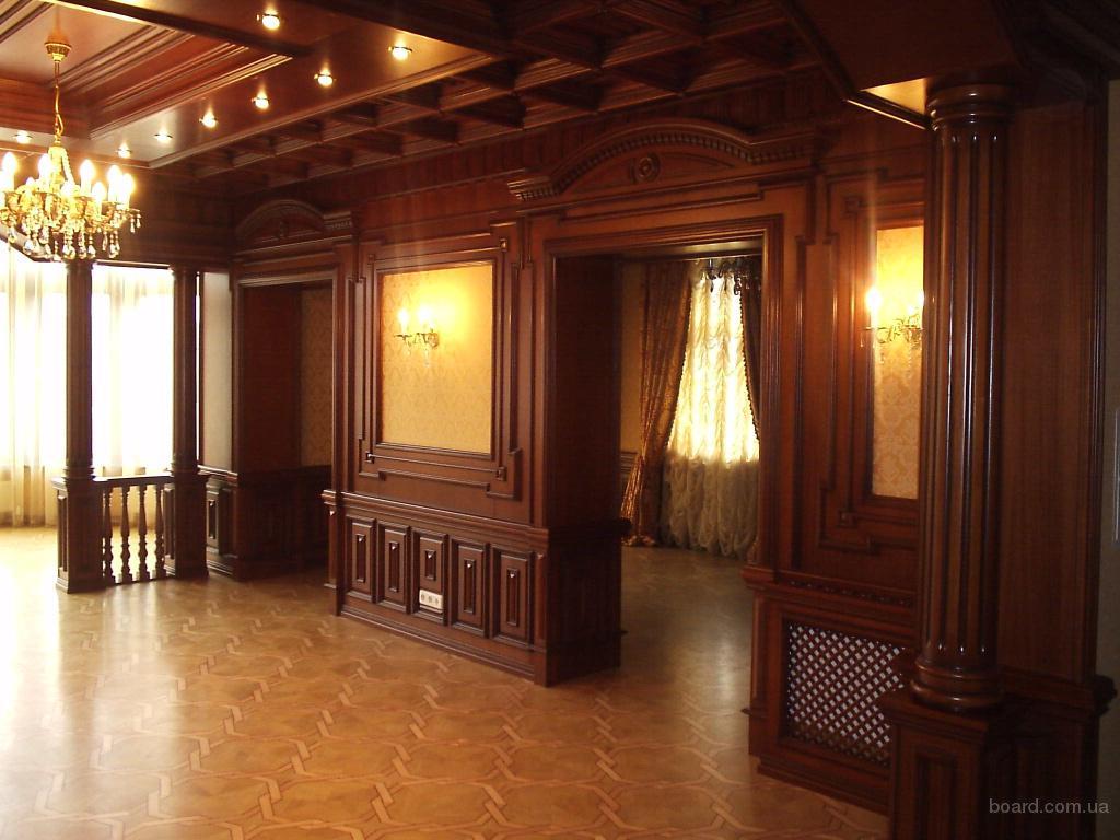 Изготовление дверей лестниц мебели и других столярных изделий