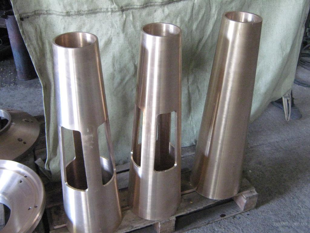 Производство деталей из бронзы марки ОЦС 555  для пром-ого и горнодобывающего обор-ия. Г. Никополь.