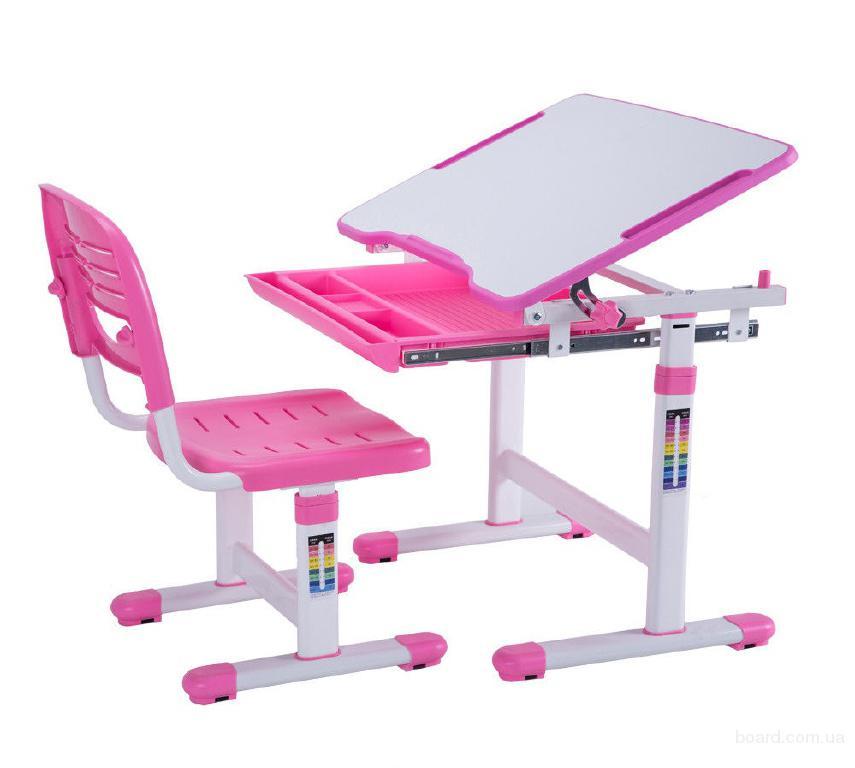 Комплект парта и стул-трансформеры FunDesk Piccolino