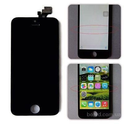 Дисплей + сенсор (модуль) iPhone 5 черный сборка