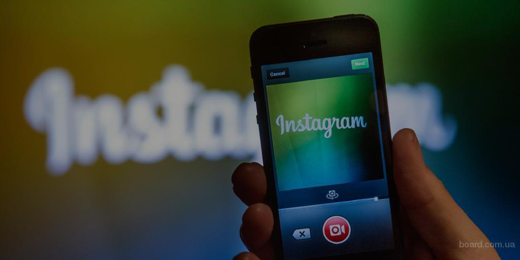 Продвижение аккаунта Instagram