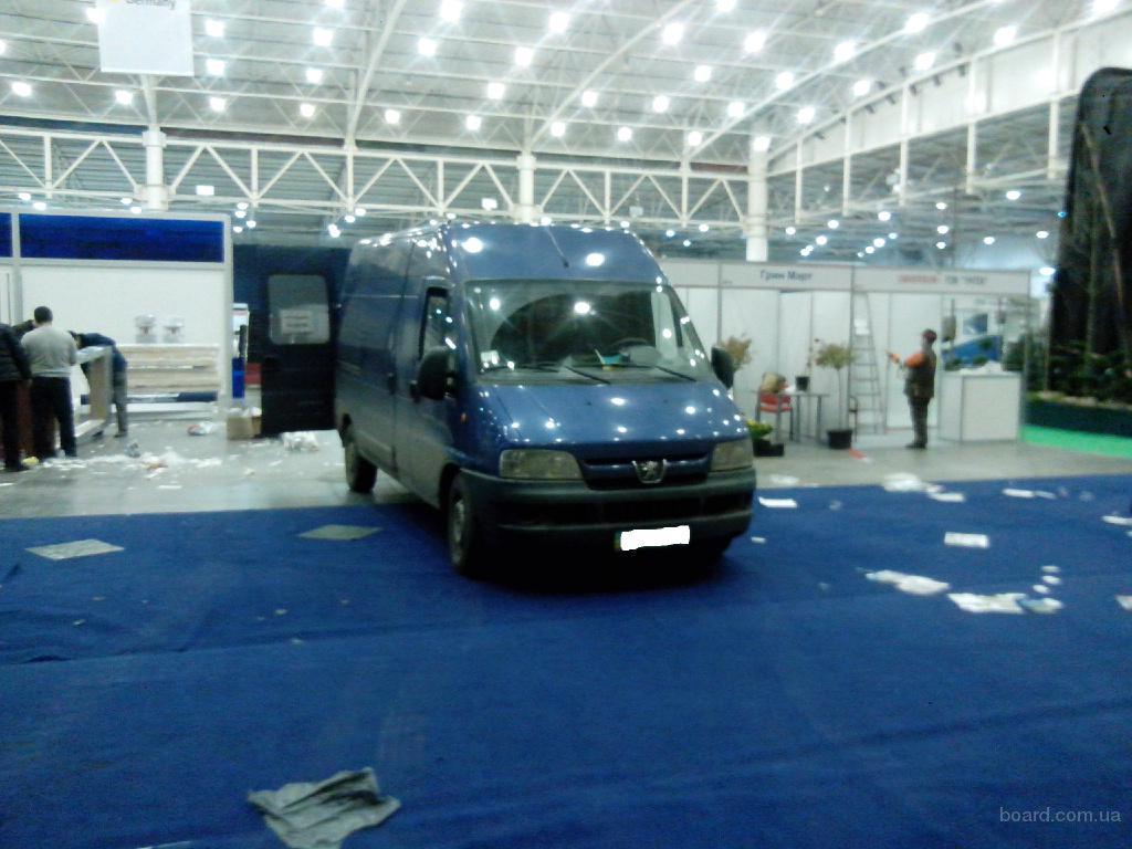 Грузоперевозки по Киеву и области микроавтобусом до 1,5 тонн