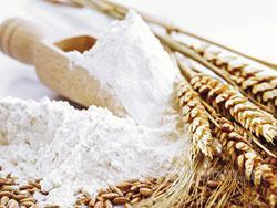 Борошно вищого та першого гатунків, манка, висівки пшеничні.