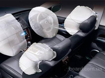 Ремонт, замена подушек и ремней безопасности.