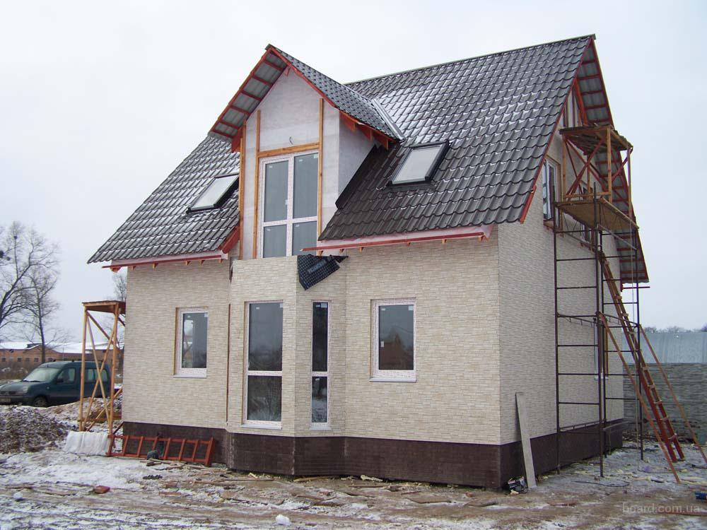 Строительство домов под ключ (также газоблок) .